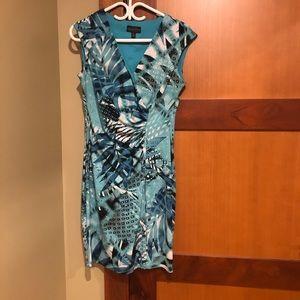 6P v-neck dress